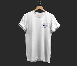 Atticus X Girls Behind The Rock Show 'Mix Tape' T Shirt (White)