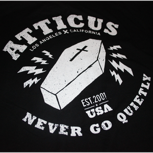Coffin Logo T-Shirt (Black)
