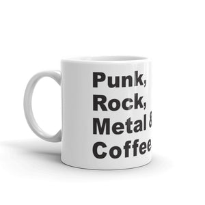 Punk Rock Metal Coffee Mug