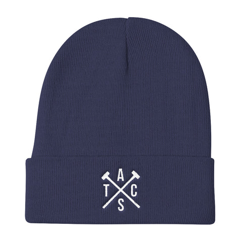 Classic Heavy Hitters Knit Beanie (Blue)
