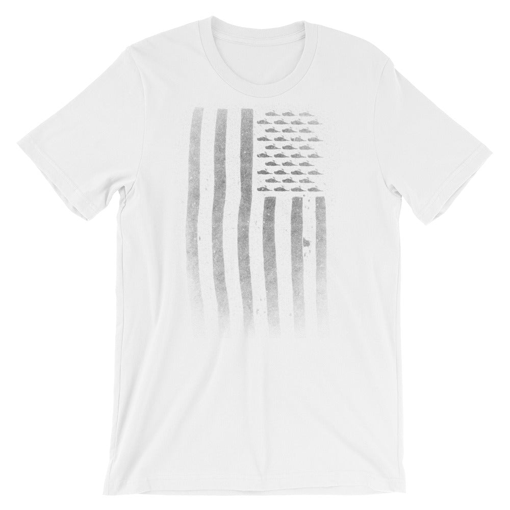 Flag Bird T-Shirt (White)