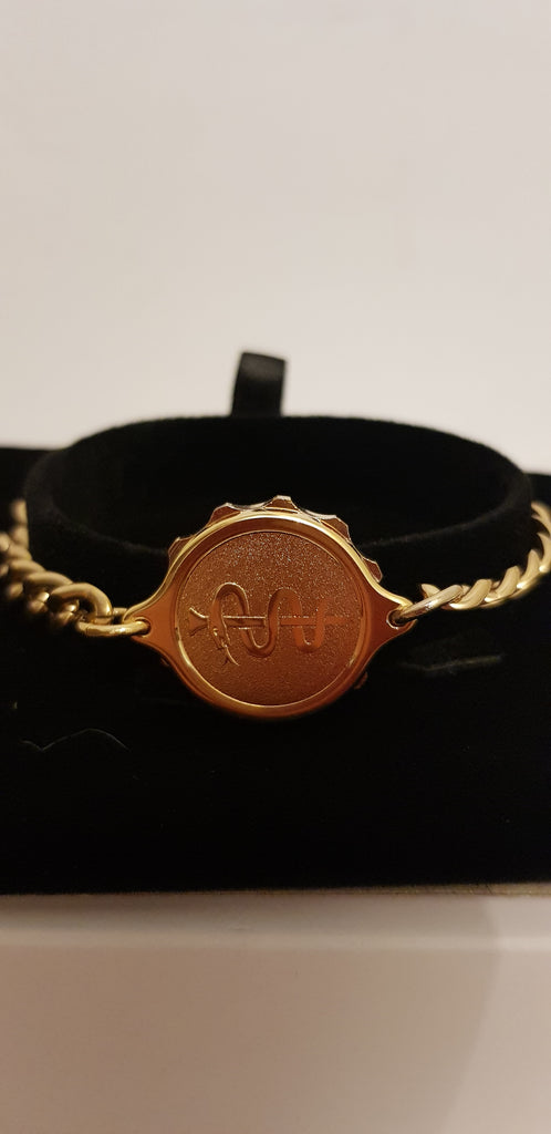 LADIES SNAKE AND STAFF SOS TALISMAN BRACELET 232364