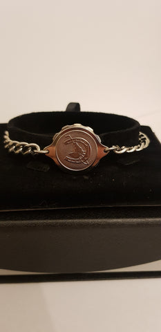 LADIES STEEL HORSESHOE BRACELET 235506