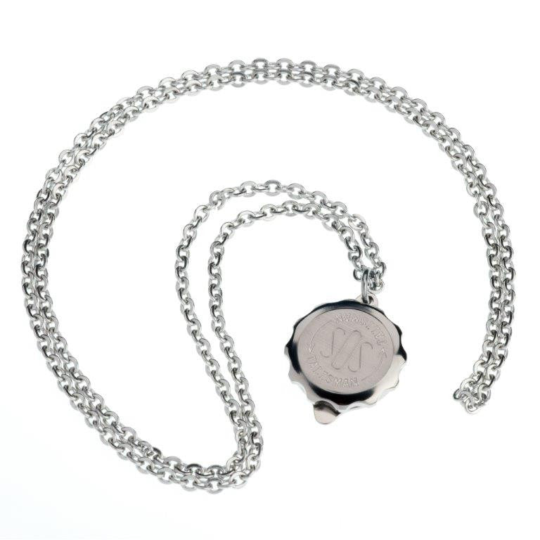 Titanium Standard Pendant and Chain - Medical ID Jewellery