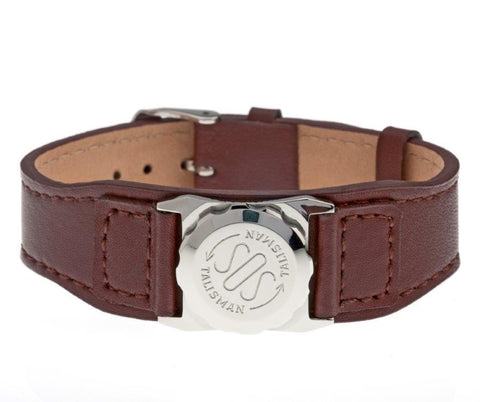 Stainless Steel Capsule (18mm) & Leather Strap