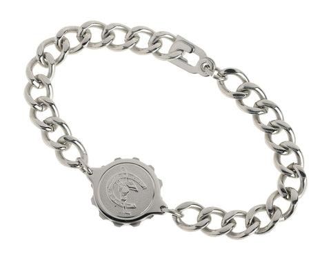 Stainless Steel Bracelet & Horseshoe Capsule GENTS 235505