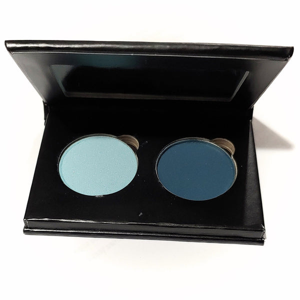 Pressed Eye Shadow Duo - Aqua Marina