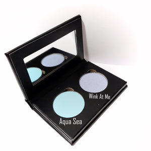 Pressed Eye Shadow Duo - Aqua Sea
