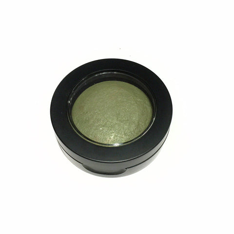 Botanical Baked Eye Shadow - Forest Green - LittleStuff4u Minerals
