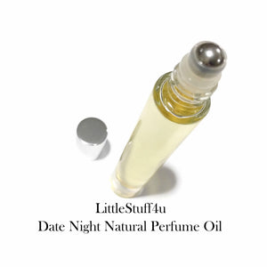 Essential Oil Natural Perfume - Date Night - LittleStuff4u Minerals