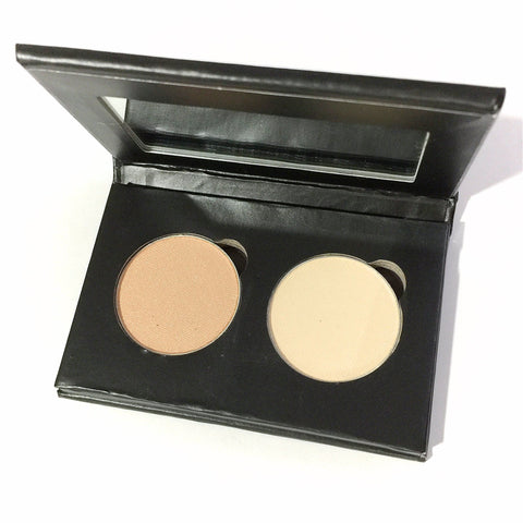 Pressed Eye Shadow Duo - French Willow - LittleStuff4u Minerals
