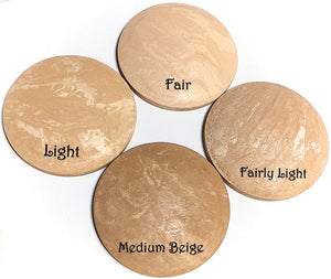 Baked Foundation - Fairly Light - LittleStuff4u Minerals