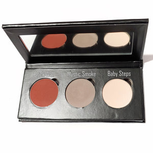 Pressed Eye Shadow Trio - Brick Wall