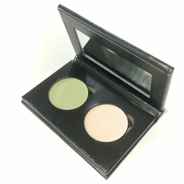 Pressed Eye Shadow Duo - Celery Bisque - LittleStuff4u Minerals