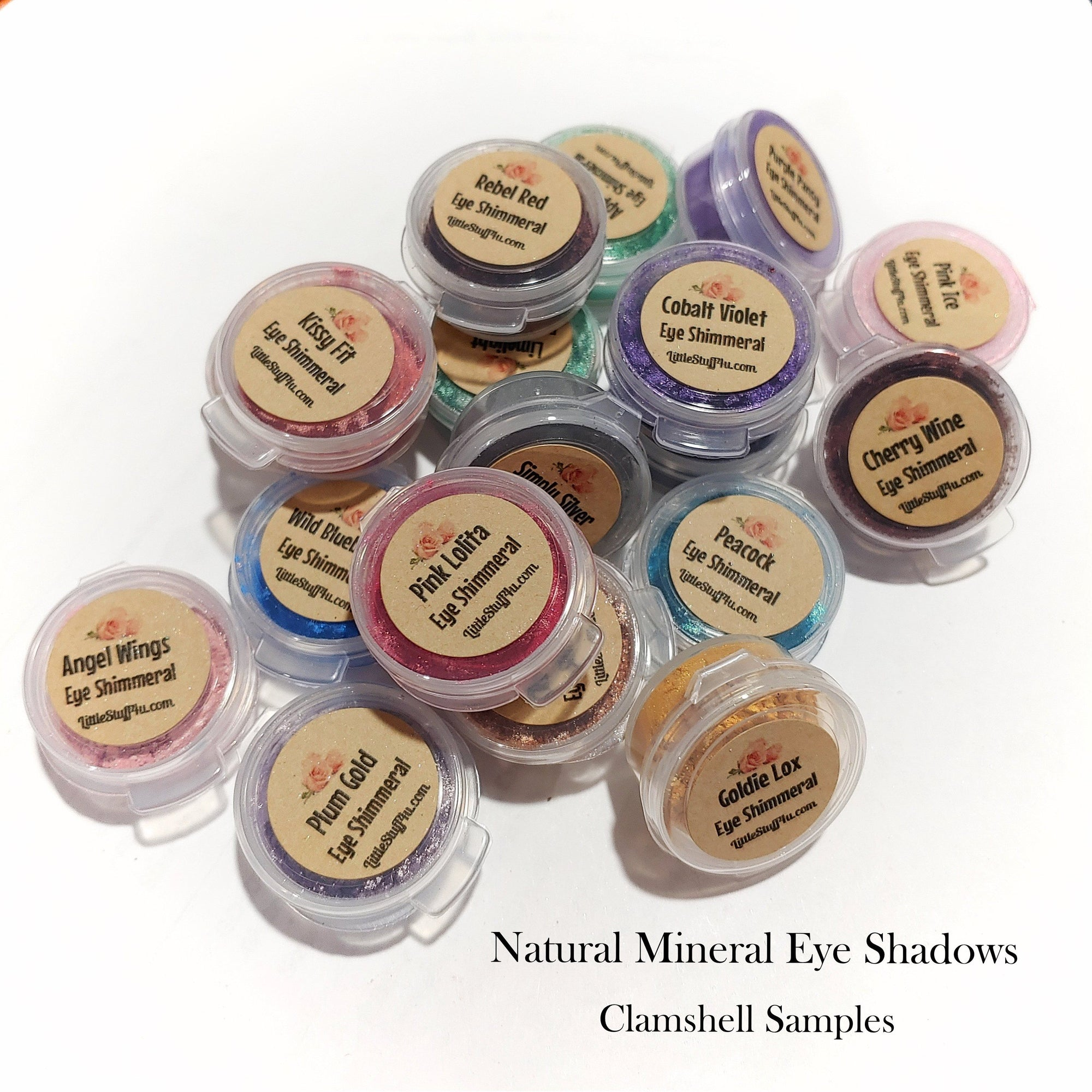 Eye Shadow Clamshell Sample Set