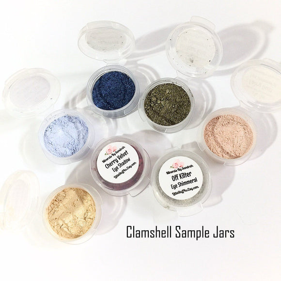 Eye Shadow Clamshell Sample Set - LittleStuff4u Minerals
