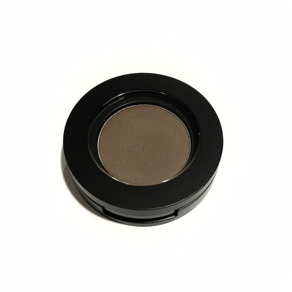 Organic Pressed Mineral Eye Shadow - Cocoa Bean