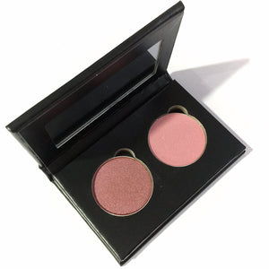 Pressed Eye Shadow Duo - Garnet Petals - LittleStuff4u Minerals