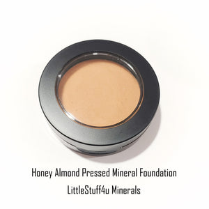 Pressed Mineral Foundation - Honey Almond