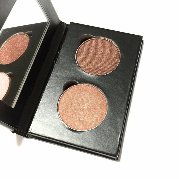 Pressed Eye Shadow Duo - Copper Hope - LittleStuff4u Minerals
