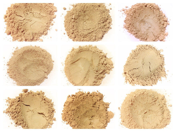 Mineral Foundation Sample Jar Set - LittleStuff4u Minerals