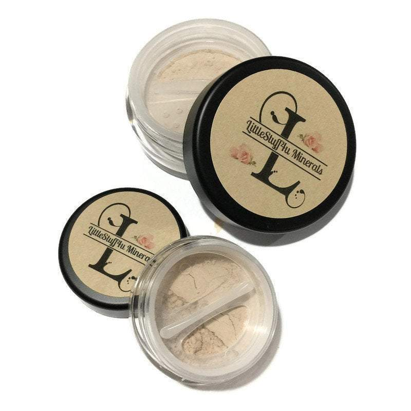 Medium Yellow Mineral Foundation