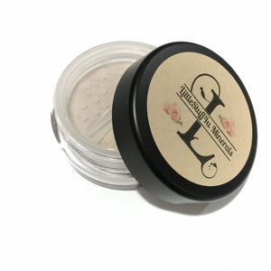 Medium Yellow Mineral Foundation - LittleStuff4u Minerals