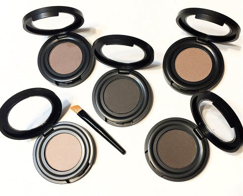 Organic Pressed Eye Brow Powder - LittleStuff4u Minerals