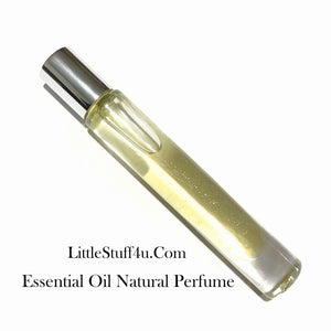 Essential Oil Natural Perfume - Vanilla Sandalwood - LittleStuff4u Minerals