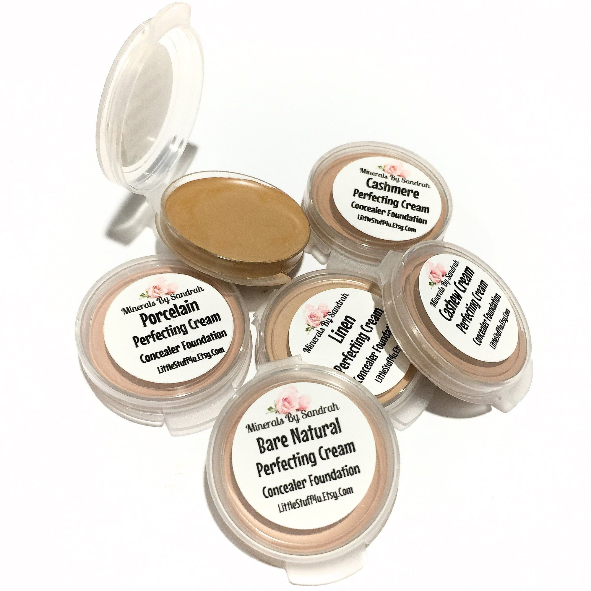 Perfecting Concealer Samples Set 4 - LittleStuff4u Minerals