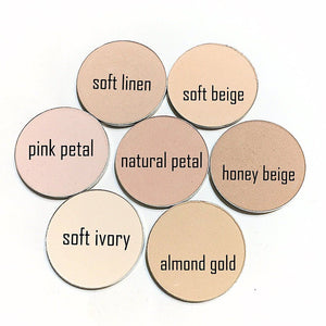 Pressed Mineral Foundation - Soft Linen - LittleStuff4u Minerals