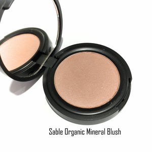 Organic Pressed Blush - Sable - LittleStuff4u Minerals
