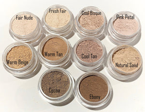 Tan Pink Mineral Foundation