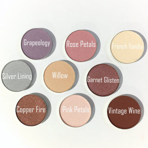 Organic Pressed Eye Shadow - LittleStuff4u Mineral Cosmetics  - 1