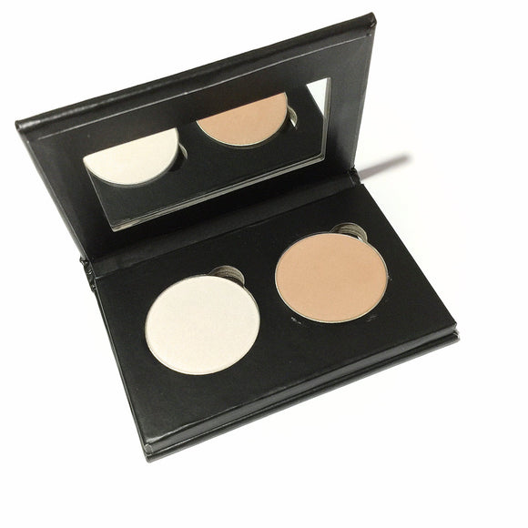 Pressed Eye Shadow Duo - Starmyst Toffee - LittleStuff4u Minerals
