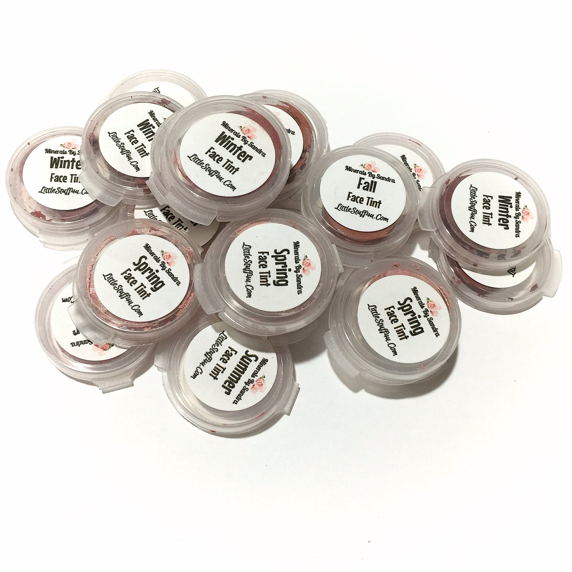 Organic Lip Cheek Tint Samples - LittleStuff4u Minerals