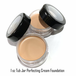 Perfecting Cream Concealing Foundation - Plastic Jars