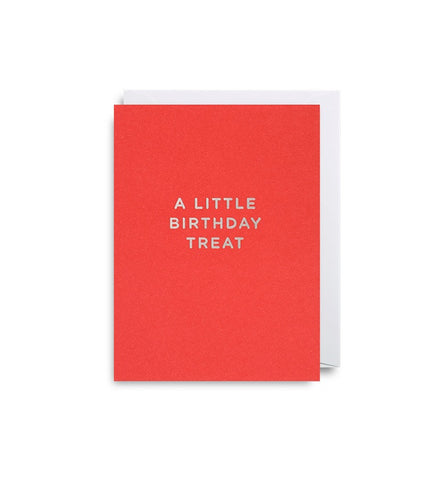 A Little Birthday Treat Mini Card