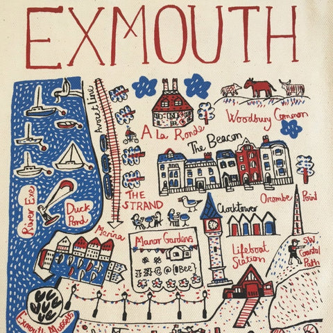 New Exmouth Teatowel