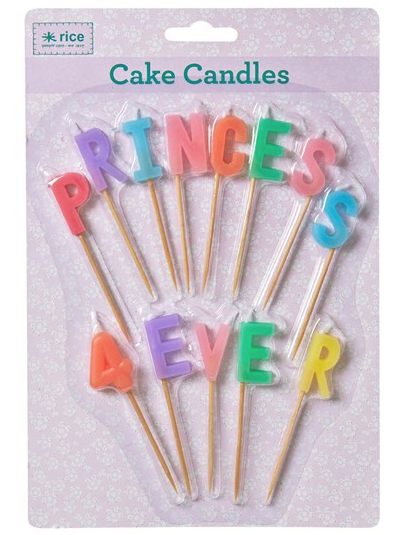 RICE Princess Forever Candles