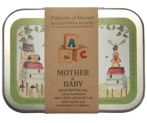 Mother and Baby Gift Tin