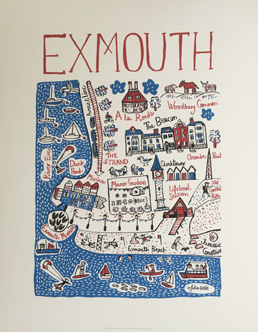 New Exmouth Cityscape Print