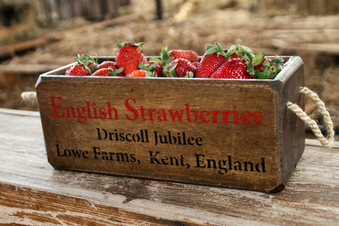 English Strawberries ארגז