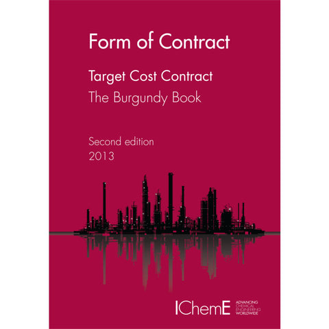 The Burgundy Book, Target Cost Contract, 2nd Edition, 2013, paperback