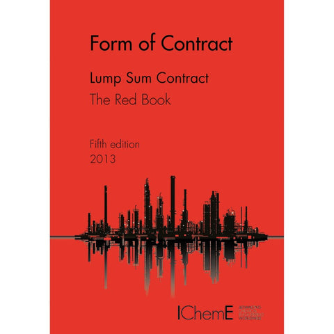 The Red Book, Lump Sum Contract, 5th Edition, 2013, paperback