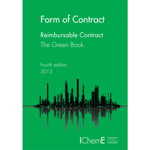 The Green Book, Reimbursable Contract, 4th Edition, 2013, paperback