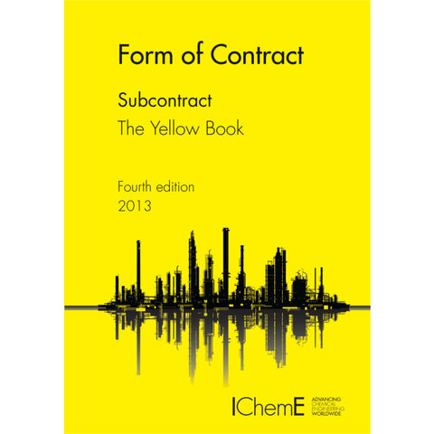 The Yellow Book, Subcontracts, 4th Edition, 2013, paperback
