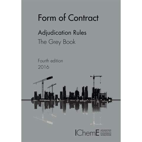 The Grey Book, Adjudication Rules, 4th Edition, 2016, paperback