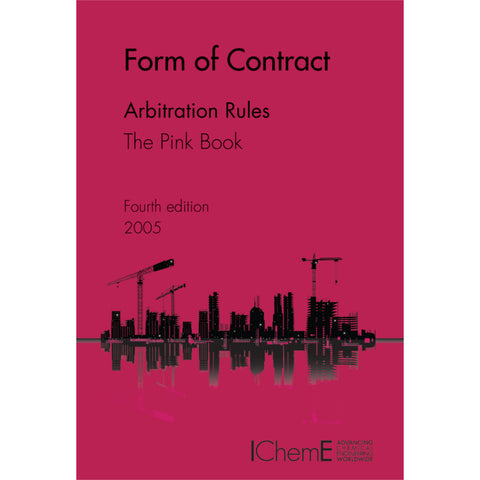 The Pink Book, Arbitration Rules, 4th Edition, 2005, printable PDF