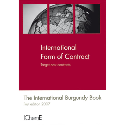 The International Burgundy Book, Target Cost Contract, 1st Edition, 2007, paperback